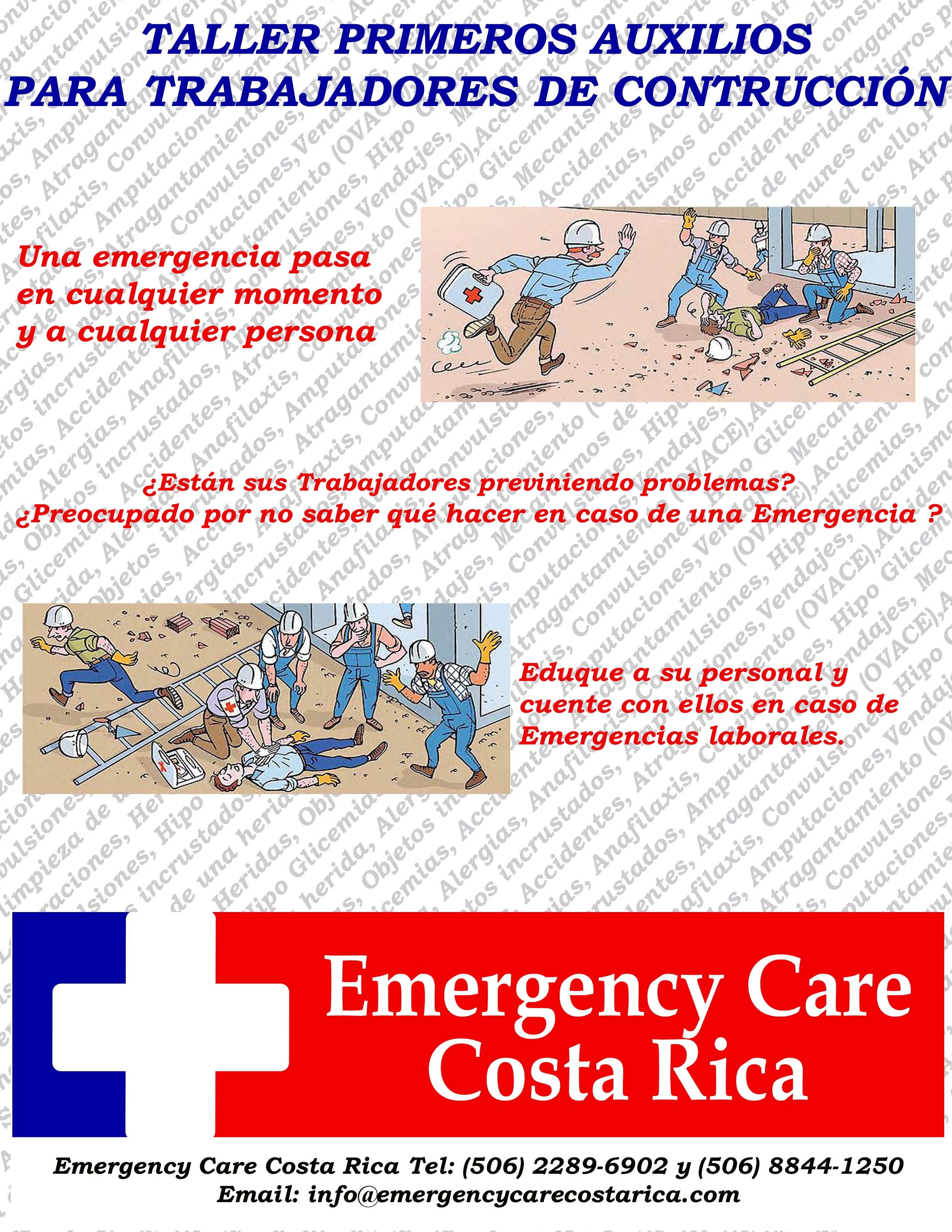 Primeros Auxilios y RCP   Emergency Care Costa Rica   Page 2