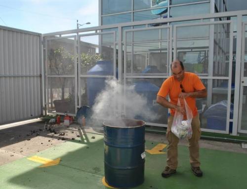 Capacitacion de Prevención y Manejo del Fuego – Uso de extintores