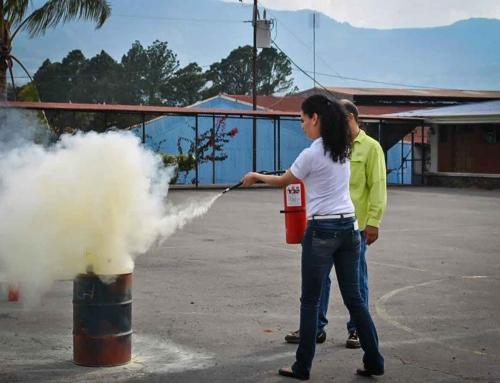 Extintores y su uso adecuado
